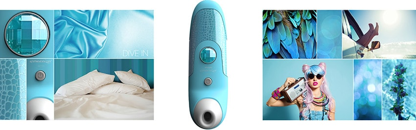 Womanizer Vibrator Blau